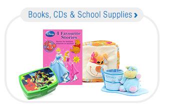 Books, CDs & School Supplies