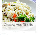 Cheesy Veg Risotto