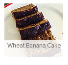Wheat Banana Cake
