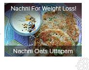 Nachni Oats Uttapam