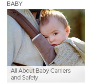All About Baby Carriers and Safety