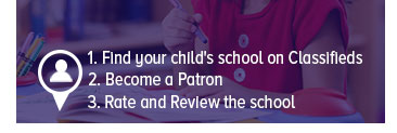 Is your child's school listed on WOM?