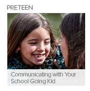 Communicating with Your School Going Kid