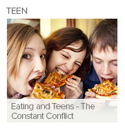 Eating and Teens - The Constant Conflict
