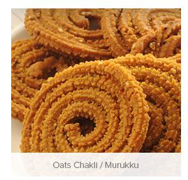 Oats Chakli / Murukku