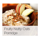 Fruity Nutty Oats Porridge