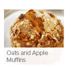 Oats and Apple Muffins