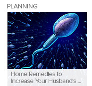 Home Remedies to Increase Your Husband's Sperm Count
