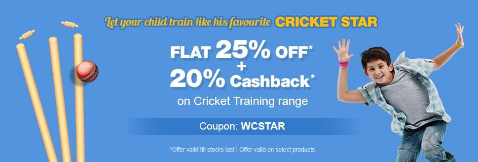 Flat 25% OFF* & 20% Cashback*