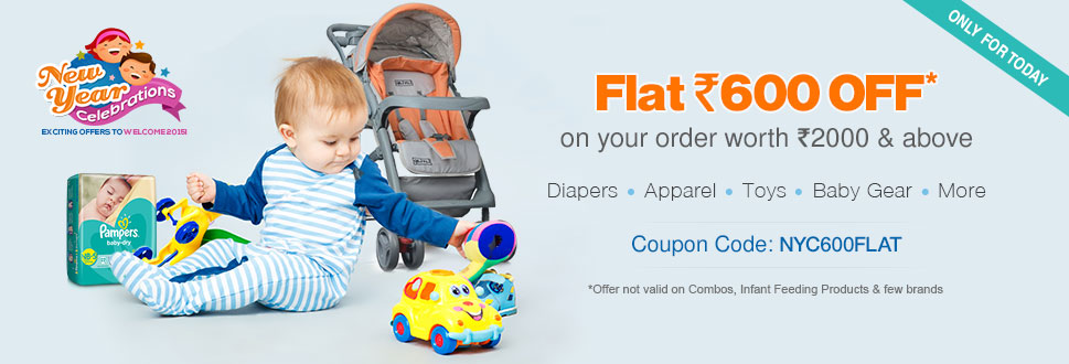 Flat Rs 600 OFF on the order