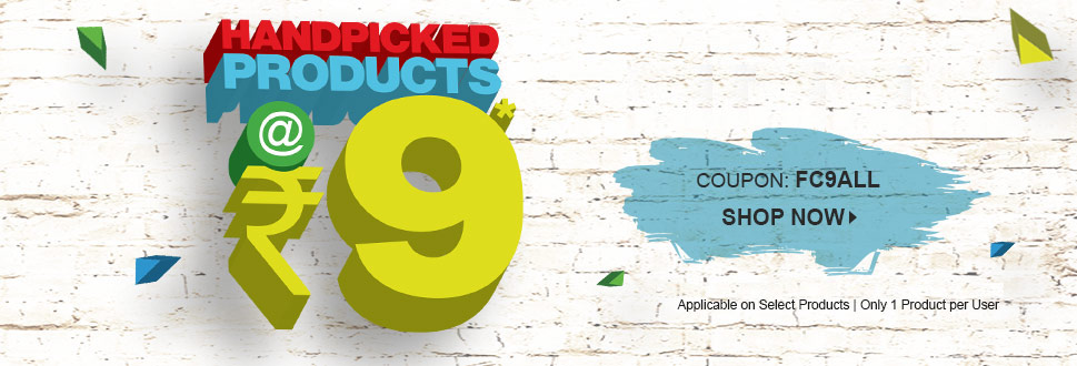 Handpicked Products @ Rs 9