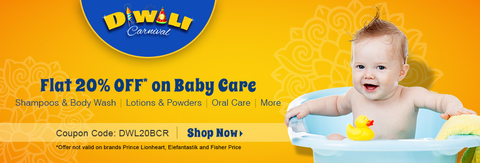 20% OFF on Baby Care