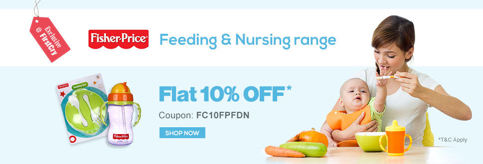 Flat 10% OFF on Fisher Price
