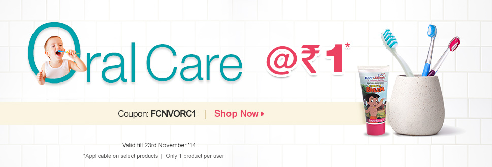 Oral Care @ Rs.1
