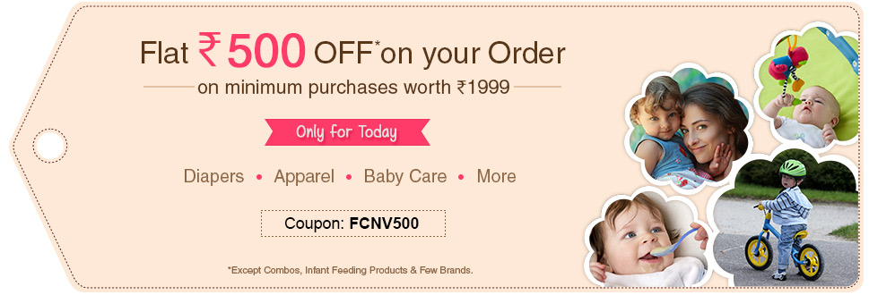 Rs 500 OFF on the order