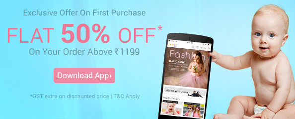 firstcry.com - Get Flat 50% discount on all products