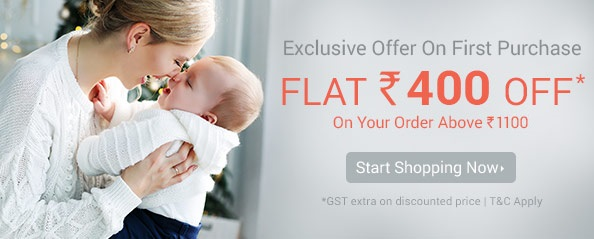 firstcry.com - ₹400 off on all products