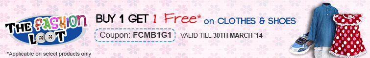 Buy 1 Get 1 Free Kids Clothes & Footwear – FirstCry.com Online Shop
