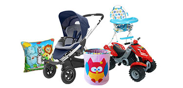 Flat 25% OFF* on Baby Gear & Nursery