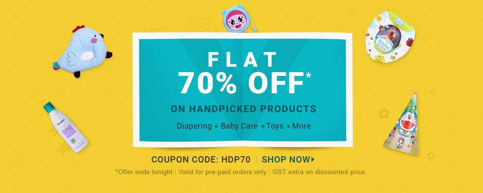 Flat 70% OFF*