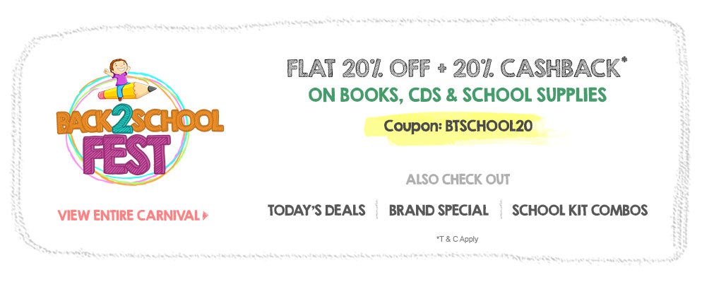 Flat 40% OFF on Character Special School Supplies @ Firstcry – Baby Care & Toys