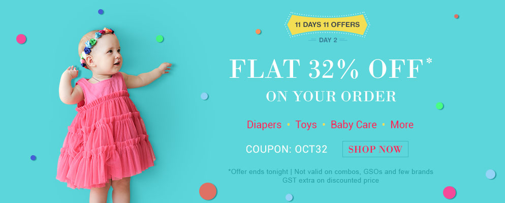 off on Diapers, Toys & more