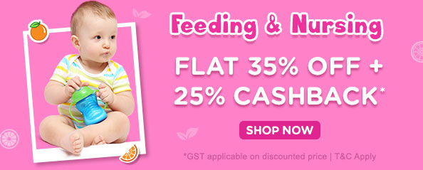 firstcry - Get 35% discount on Feeding and Nursing products
