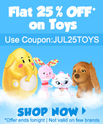 Flat 25% OFF on all Toys @ Firstcry – Rs.750 – Baby Care & Toys