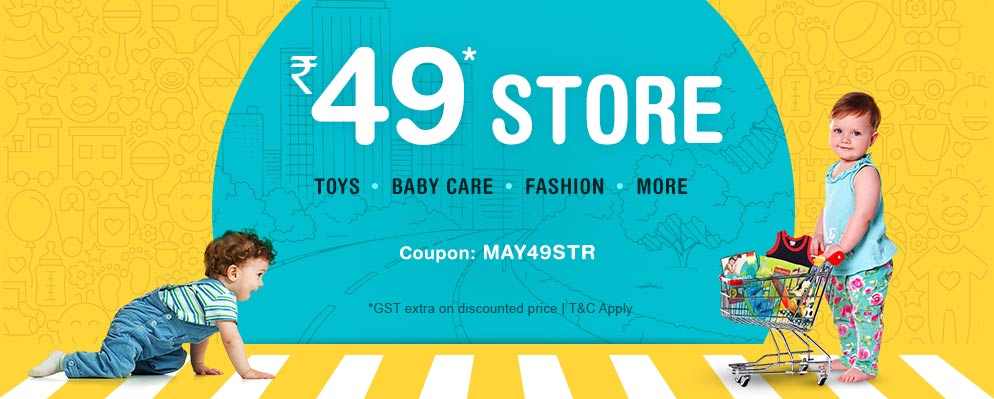 offers on Toys, Baby Care, Fashion