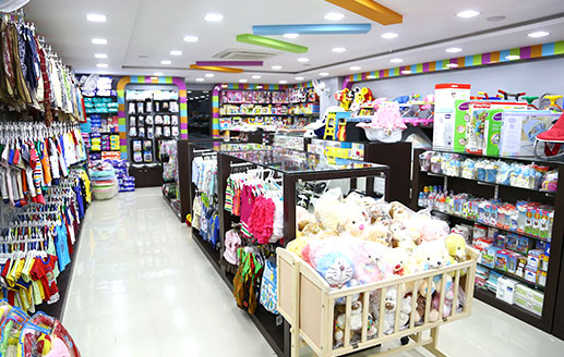 Indian clothes store. Girls clothing stores