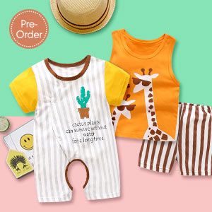 Sets & Rompers | Up to 4Y