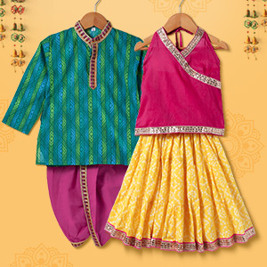 Ethnic Mantra | Up to 6Y