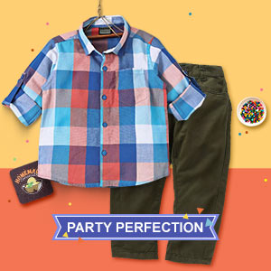For His Day Party | 2 - 6Y
