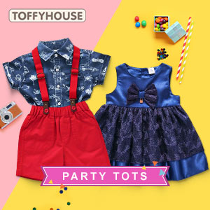 When lil ones party! | 3M - 4Y