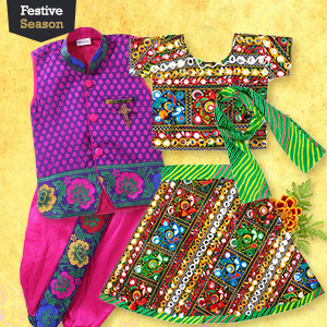 Go colorful this Navratri