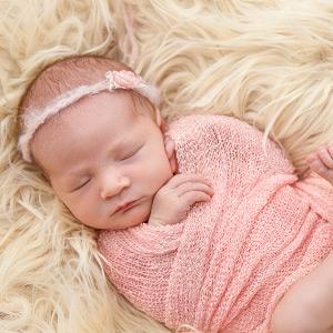 For baby's cozy sleep