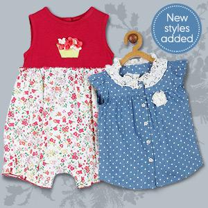 Charmingly trendy wardrobe