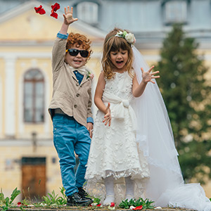 For Little Bride and Groom