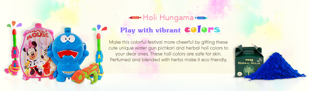 Holi Hungama Starts at Rs.36 @ Firstcry – Baby Care & Toys