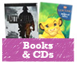 Books, CD's, Games