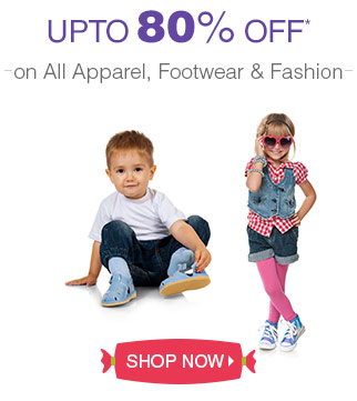 All products on Disocunt at upto 80% off @ Firstcry – Baby Care & Toys