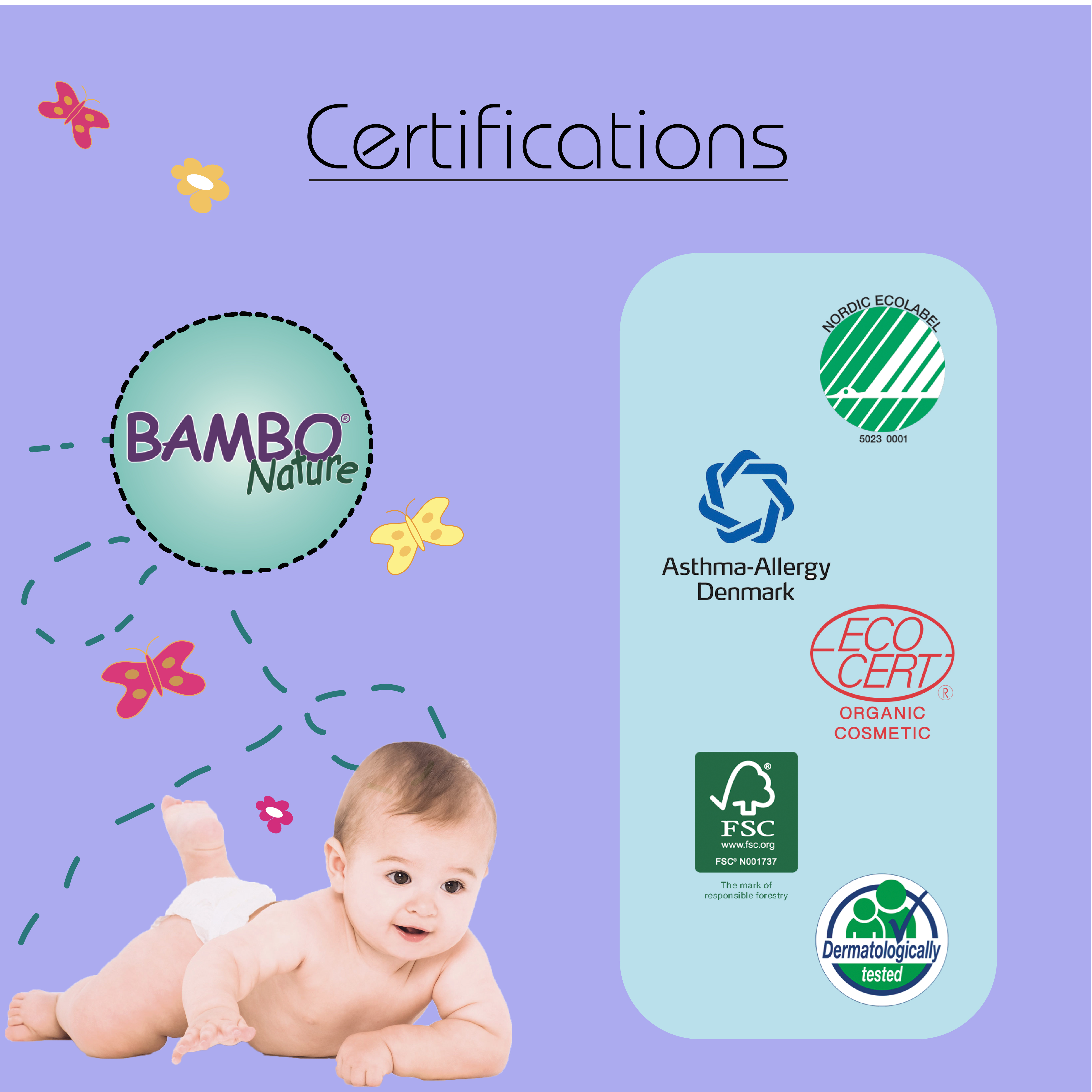 Bambo Nature Diapers New Born 28 Pieces Online in India, Buy at Best ...