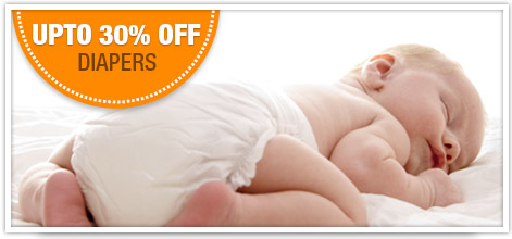 Upto 50% Off Diapers