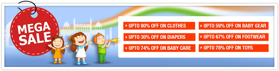 Flat 50% Off + 50% Cashback on 15000+ products @ Firstcry – Rs.250 – Baby Care & Toys