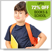 Upto 25% Off Books & School