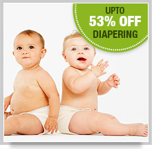 Upto 25% Off on Diapering
