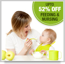 Upto 35% Off Feeding & Nursing