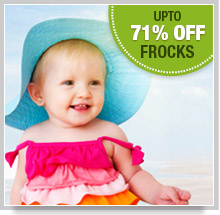 Upto 50% Off on Frocks