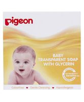Pigeon Baby Transparent Soap With Glycerin - 75 gm