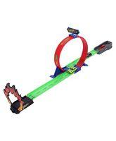 Emob Powerful Spin Loop Way Racing Inertia Power Car Multicolor - 3 Vehicles